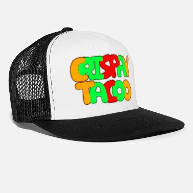 Writing CrispayTacoo Bubble Writing Apparel - Trucker cap