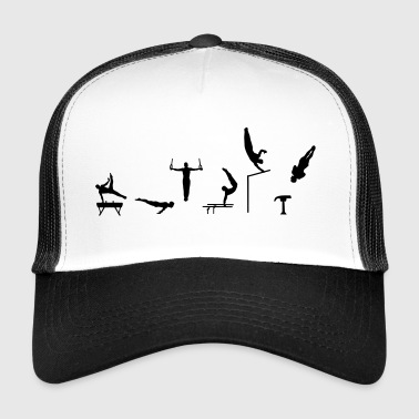 Gymnast, Men's Gymnastics - Trucker Cap