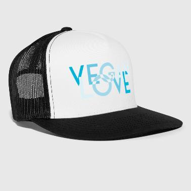 VEGAN LOVE MELT blue - Trucker Cap