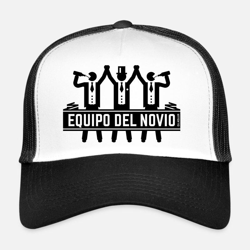8251c890f1b60 Despedida Gorras y gorros - Equipo Del Novio (Despedida De Soltero    Solteros) -