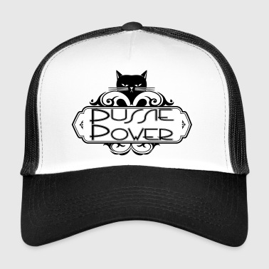 Pussy pussiepower (pussy power girl) svg for equality  - Trucker Cap