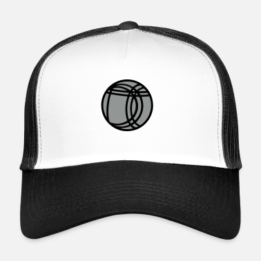 Message boule de pétanque,formes,message - Trucker Cap