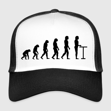 Evolution at the table - Trucker Cap
