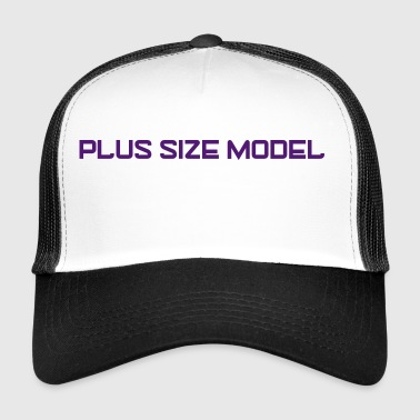 Plus Size Logo - Trucker Cap