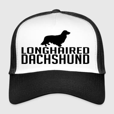 race de chien à poil long Teckel - Trucker Cap