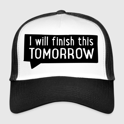 2541614 15771742 tomorrow - Trucker Cap