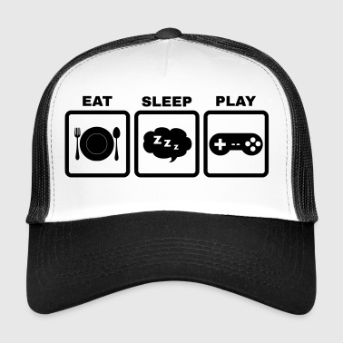Eat Sleep Play - Trucker Cap