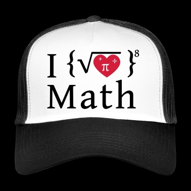 J'aime les maths - Trucker Cap