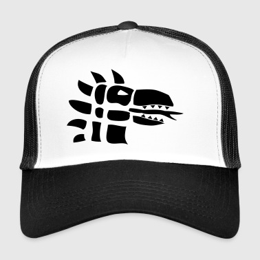 Dragon | Dragon head Dragons | Fire | reptile - Trucker Cap