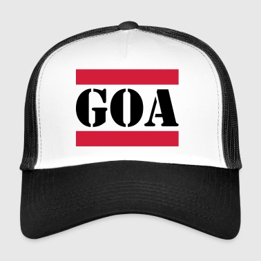 Goa with red lines - Trucker Cap