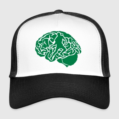 pingpong tennis table cerveau brain cerv - Trucker Cap