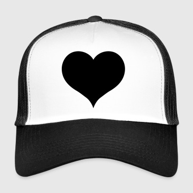 Black Heart - Trucker Cap