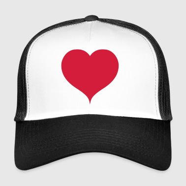 heart 1348868 - Trucker Cap