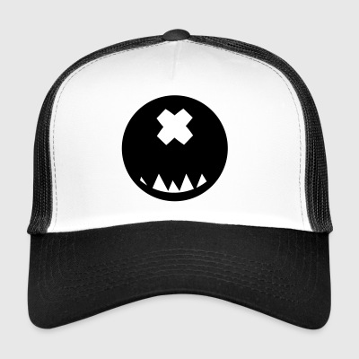 Smiley geformter Kopf # 2 - Trucker Cap