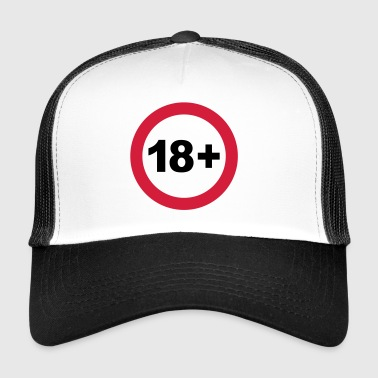 18th / 18th birthday. / 18+ - Trucker Cap