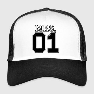 MRS. 01 Mr & Mrs Couple JGA Partner Look Part 2 Couple - Trucker Cap