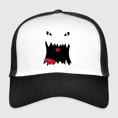 Monster-Gesicht - Trucker Cap