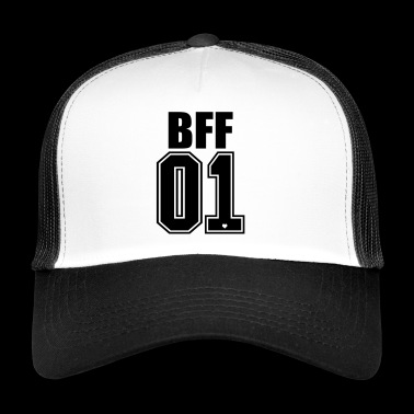 BFF Best Friends Forever 01 No.1 beste vrienden - Trucker Cap