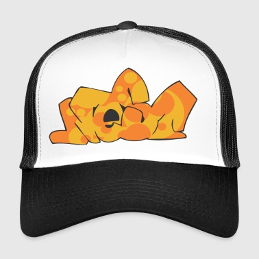 neon graffiti - Trucker Cap