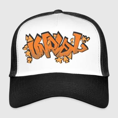 unreal graffiti - Trucker Cap