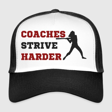 Coach / Coach: Coaches Strive Harder - Trucker Cap