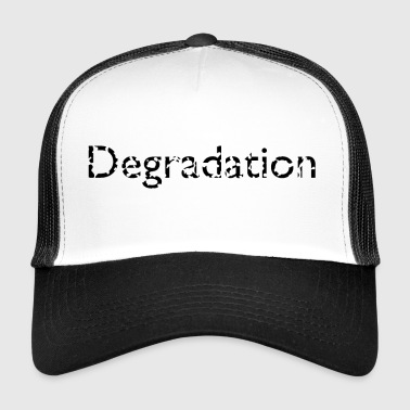 dégradation - Trucker Cap