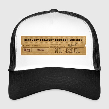 Kentucky Bourbon Whiskey - Gorra de camionero