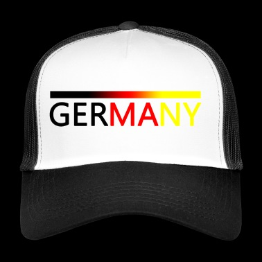 Sport Nation Niemcy - Trucker Cap