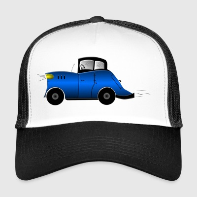 retro veteranbil - Trucker Cap