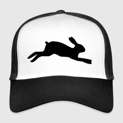 Rabbit Silhouette - Trucker Cap