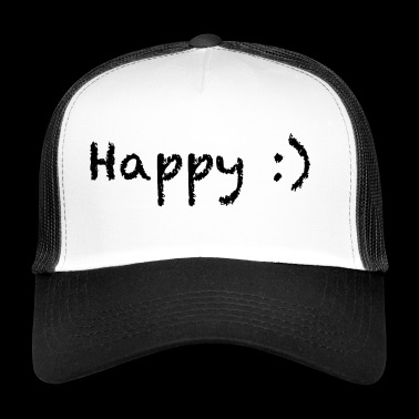 happy - Trucker Cap