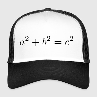 Pythagorean theorem - Trucker Cap
