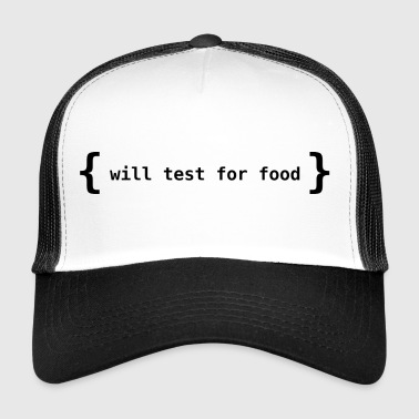 Test de l'alimentation - Trucker Cap
