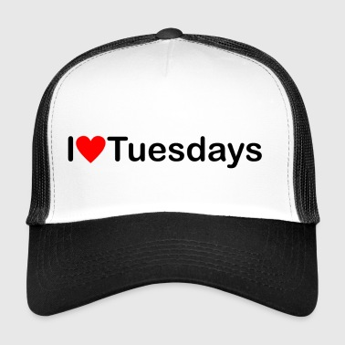 Tuesday I love Tuesday - Trucker Cap