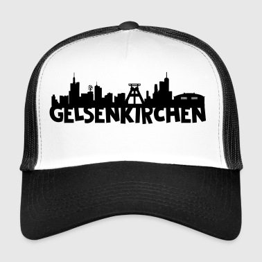 Gelsenkirchen Skyline - Trucker Cap