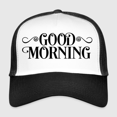 2541614 15943637 morning - Trucker Cap