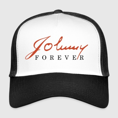 t shirt johnny hallyday - Trucker Cap