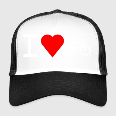 I love cycling - Trucker Cap