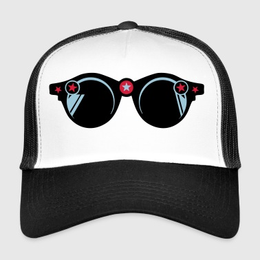 round sunglasses star 401 - Trucker Cap