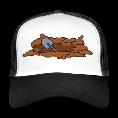 Civil engineering road construction - Trucker Cap