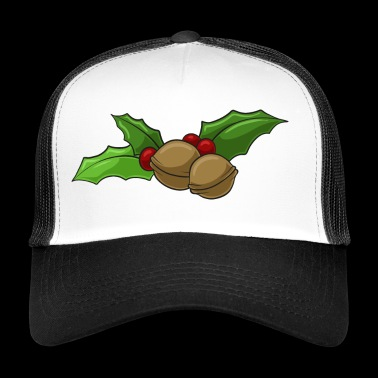 Christmas Holly dekoration Walnut - Trucker Cap
