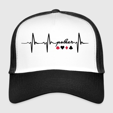 Heartbeat of poker - Trucker Cap