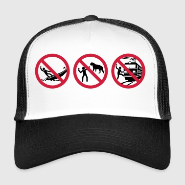 advertencia autofotos - Gorra de camionero