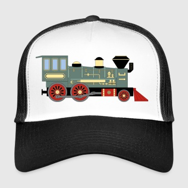 Vintage Train - Trucker Cap