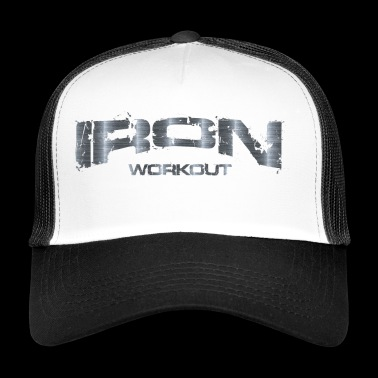 ijzeren training - Trucker Cap