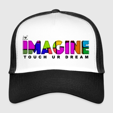 ima black.png - Trucker Cap