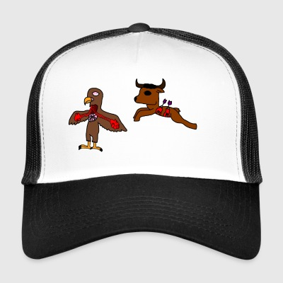 The eagle and the buffalo - Trucker Cap