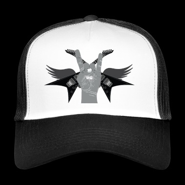 Rock 'n' roll guitarra Hard Rock - Gorra de camionero