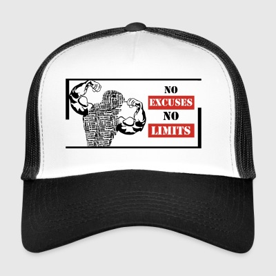 No Excuses Nessun limite - Trucker Cap