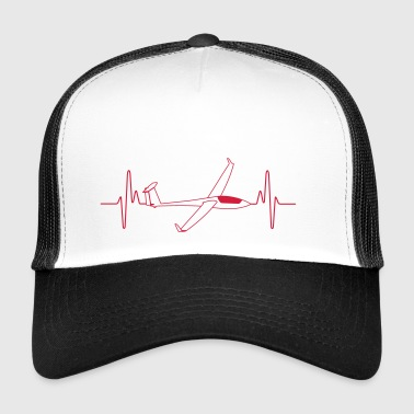 Heart attack glider - Trucker Cap